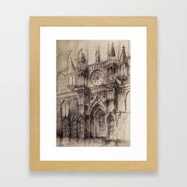 Gothic Cathedral 2 Framed Art Print