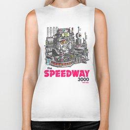 "Javier Arres T-Shirts/Camisetas ""The Speedway 3000"" Biker Tank"
