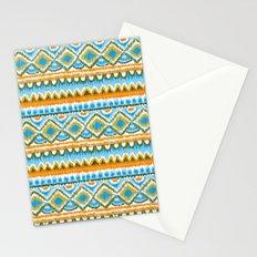 Desert Sunrise Ikat Stationery Cards
