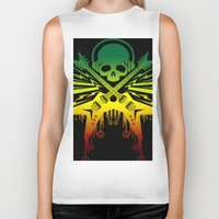 punk rock Biker Tanks featuring punk rock  by jhun21