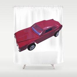 Caddy Daddy Shower Curtain