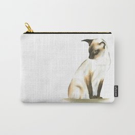 seal point siamese cat 1 Carry-All Pouch