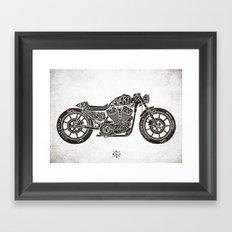 Never Die Framed Art Print