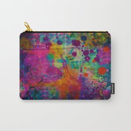 colorful canvas i Carry-All Pouch