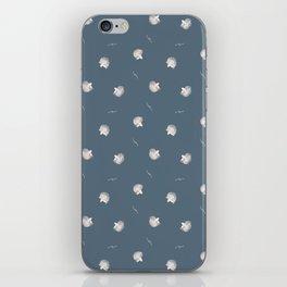 White Fish Fine Pattern iPhone Skin