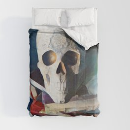 Ceremonial Skull | AI-Generated Art Comforters