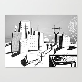 suburb Canvas Print