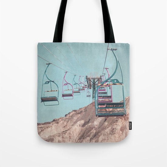 into the sky... Tote Bag