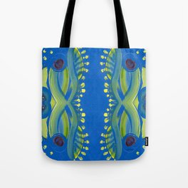 Transitions - Waves of Temporary Tranquility Tote Bag