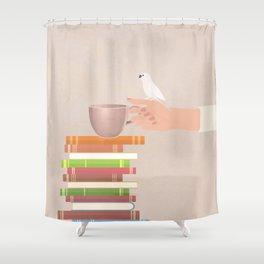 Good Read 02 Shower Curtain
