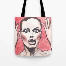 """Alyssa Edwards; """"She was the one backstabbing me behind my back!"""" Tote Bag"""