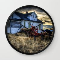 arsenal Wall Clocks featuring Egli House by Photography By KC