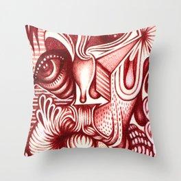 Sharp Senses & Soft Sensibilities Throw Pillow