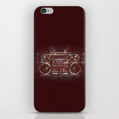 DARK RADIO iPhone & iPod Skin