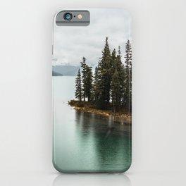 Landscape Photography Maligne Lake iPhone Case