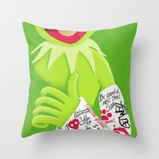 Healing & Smiling Throw Pillow