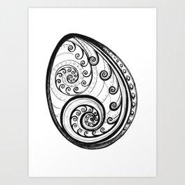 Paua Shell Art Print