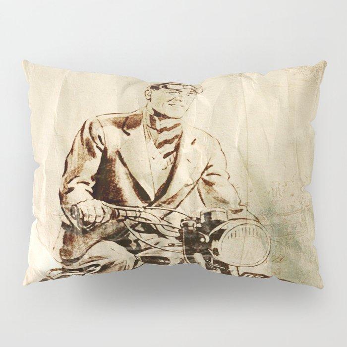 BSA - Vintage Poster Pillow Sham