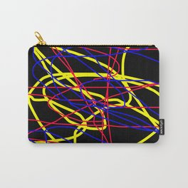 Colorful 2000 - Red Blue Yellow Carry-All Pouch