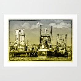 Brixham Fishers  Art Print