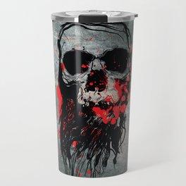 Blood Skull Travel Mug