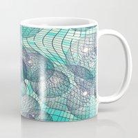 cosmos Mugs featuring Cosmos... by Lisa Argyropoulos