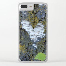 One Love Tree Clear iPhone Case