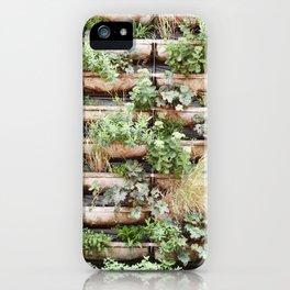 Vertical Garden iPhone Case