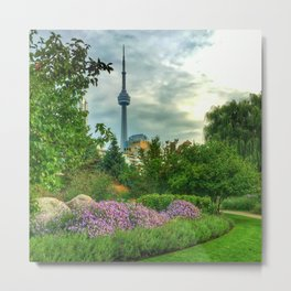 Garden View of Toronto Metal Print