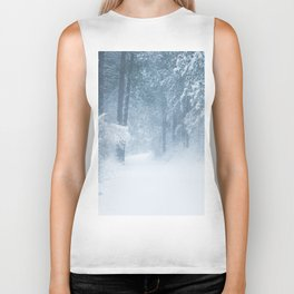 Lost in a magical forest Biker Tank
