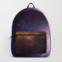 Colorful Journey In Space Backpack