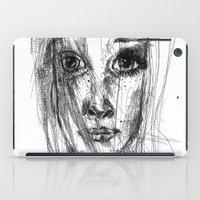 leah flores iPad Cases featuring LEAH by EDEN