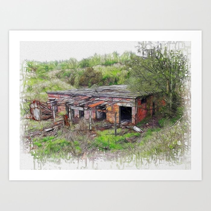 Renovation Required Art Print
