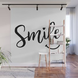Smile Wall Mural