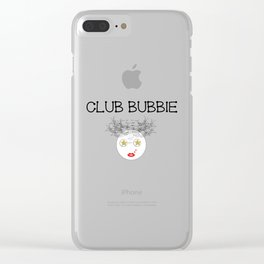 Club Bubbie Clear iPhone Case