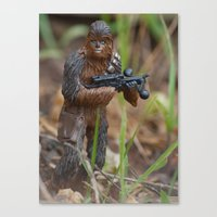 chewbacca Canvas Prints featuring Chewbacca by iFallForward