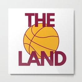 Cleveland Basketball Gifts Metal Print