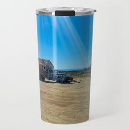 I Saw the Light - Salvation Mountain Travel Mug