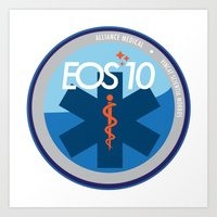 medical Art Prints featuring Alliance Medical by EOS 10