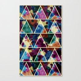 Bohemian Triangles Canvas Print