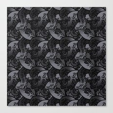 Tentacle Pattern Canvas Print