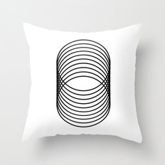 Grid 03 Throw Pillow