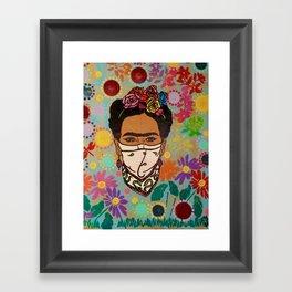 Viva La Frida! Framed Art Print