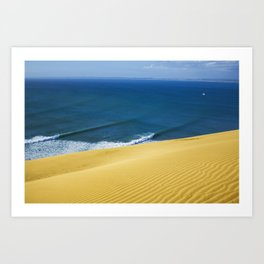 Shipwreck Bay Dunes Art Print