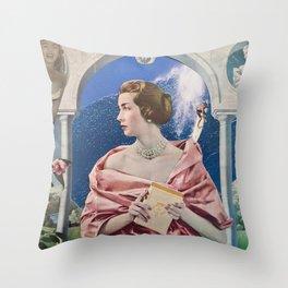 La Dame Au Camelia Throw Pillow