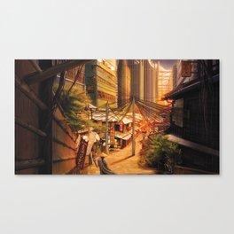 Tokyo Markets Canvas Print