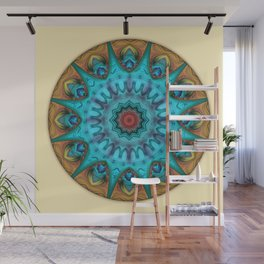 Mandalas from the Heart of Surrender 6 Wall Mural