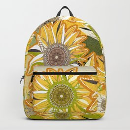 van Gogh sunflowers 2 Backpack