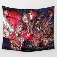 carnage Wall Tapestries featuring Carnage by Jeni Decker