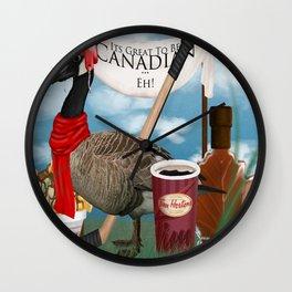 Canadian ... Eh Wall Clock